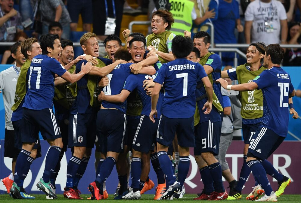 Mecz 1/8 finału MŚ 2018 Belgia - Japonia