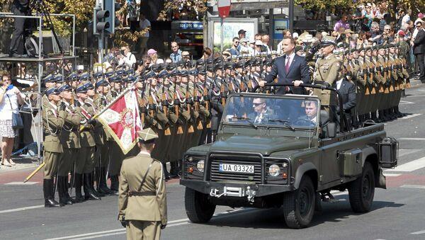 Świeto wojska polskiego, Warszawa 15 sierpnia 2015 - Sputnik Polska