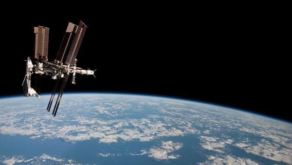 MSK w otwartej przestrzeni kosmicznej - Sputnik Polska