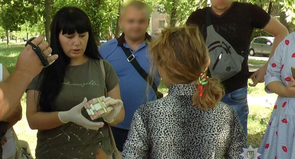 Zatrzymanie kobiety w obwodzie chersońskim na Ukrainie, która próbowała sprzedać syna