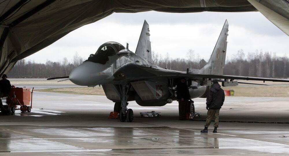 Myśliwiec MiG-29 polskich sił zbrojnych
