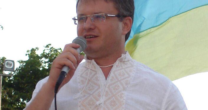 Doradca ministra spraw wewnętrznych Ukrainy Iwan Warczenko