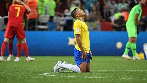 Brazylia odpada z Mistrzostw Świata 2018 - Sputnik Polska