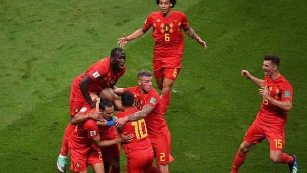 Belgia w półfinale Mistrzostw Świata w Piłce Nożnej 2018 - Sputnik Polska