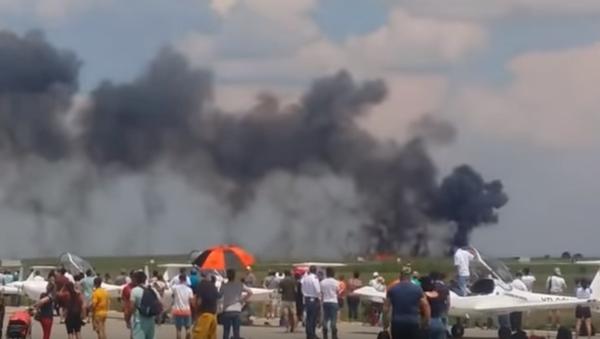 Wypadek MiG-21 w Rumunii - Sputnik Polska