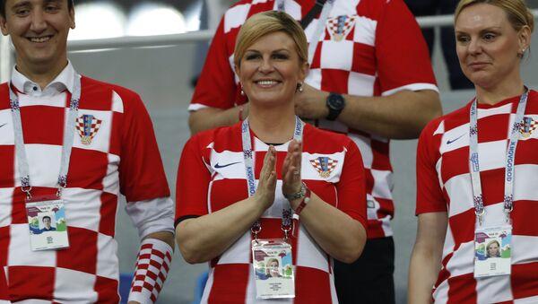 Prezydent Chorwacji Kolinda Grabar-Kitarovic - Sputnik Polska