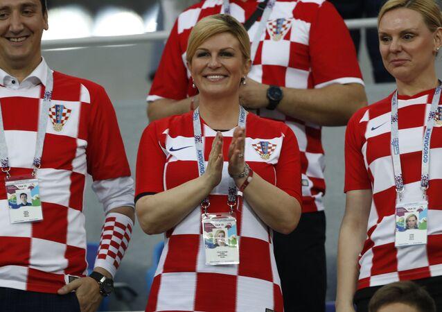Prezydent Chorwacji Kolinda Grabar-Kitarovic