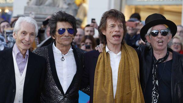 Rolling Stones Charlie Watts, Ronnie Wood, Mick Jagger and Keith Richards. - Sputnik Polska