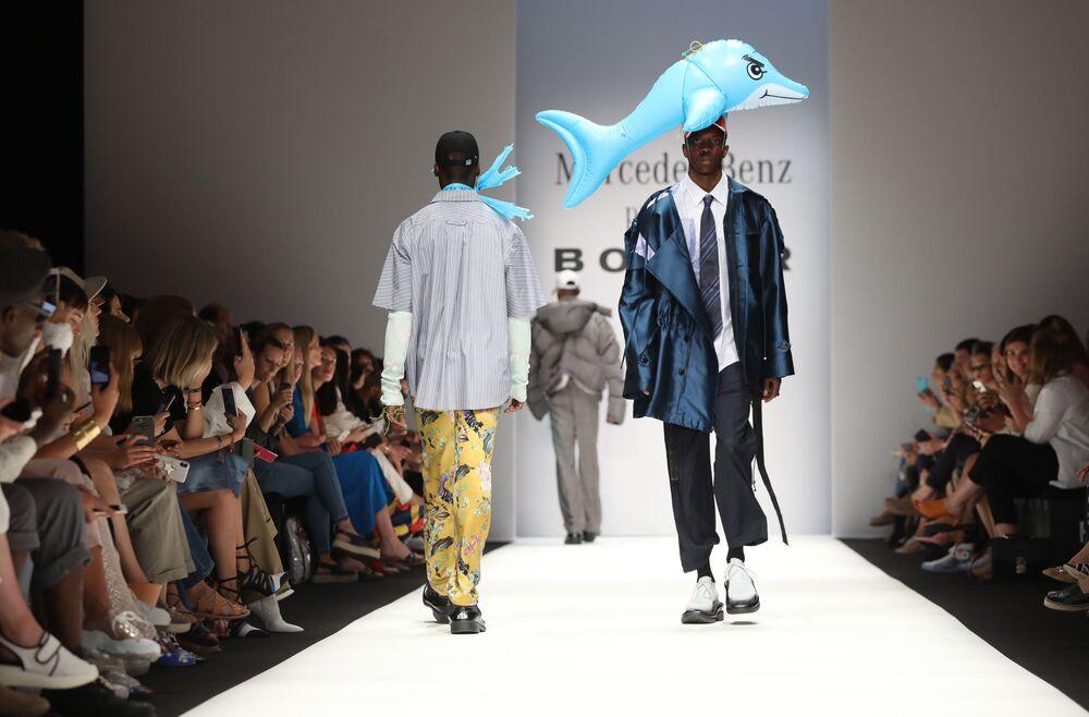 Pokaz kolekcji Botter podczas Tygodnia Mody w Berlinie