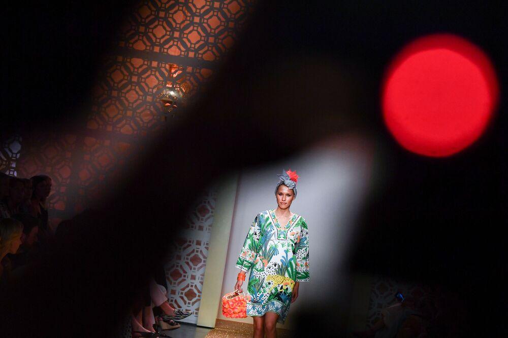 Pokaz kolekcji Marc Cain podczas Tygodnia Mody w Berlinie
