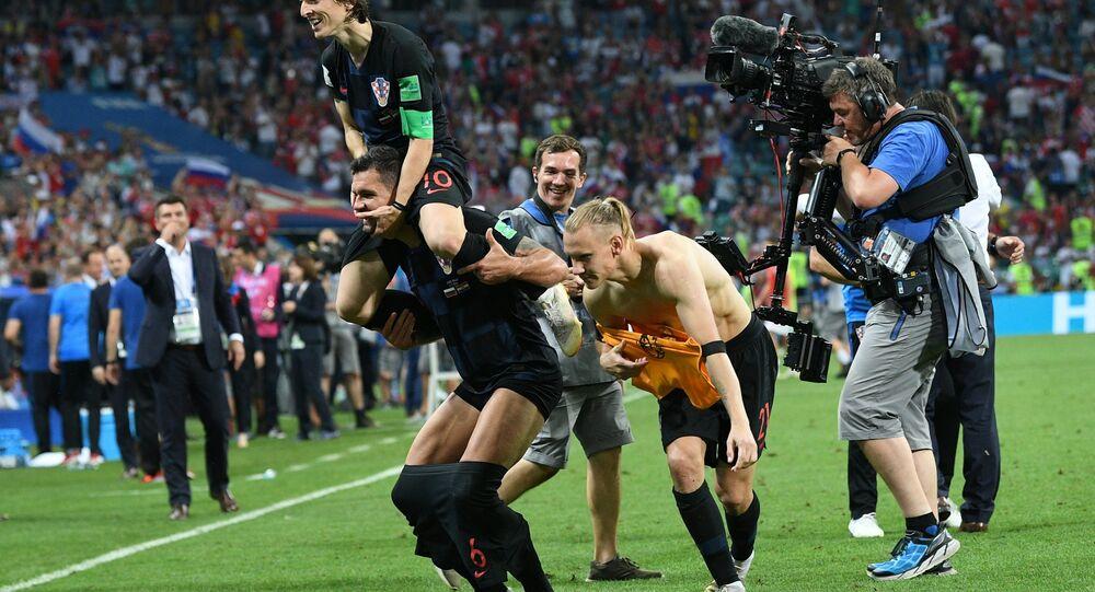 Reprezentacja Chorwacji awansowała do półfinału MŚ 2018 w Rosji