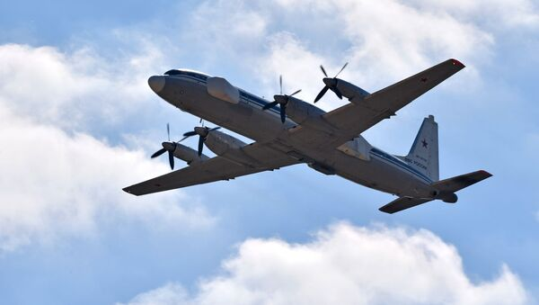 Samolot przechwytujący Ił-22PP - Sputnik Polska