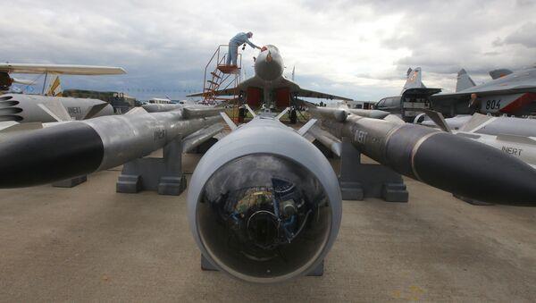 Myśliwiec przechwytujący MiG-29SM w Żukowskim - Sputnik Polska
