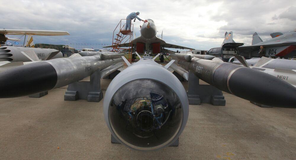 Myśliwiec przechwytujący MiG-29SM w Żukowskim