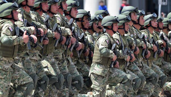 Wojskowi gruzińskiej armii - Sputnik Polska