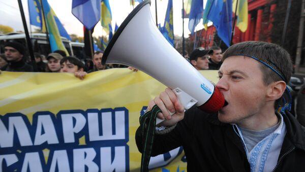 Nacjonaliści w Kijowie - Sputnik Polska