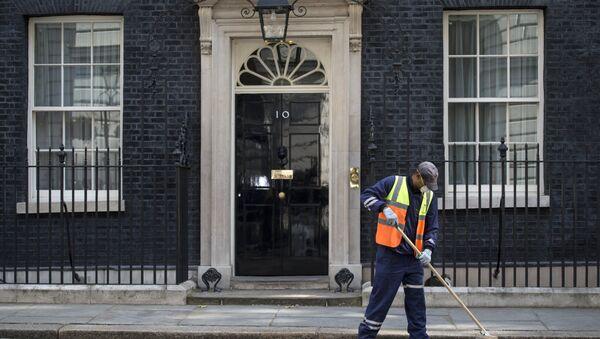 Downing Street w Londynie - Sputnik Polska