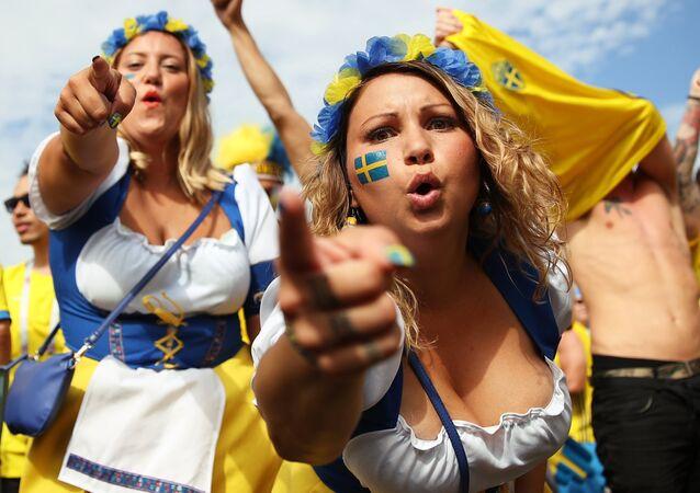 Kibice ze Szwecji