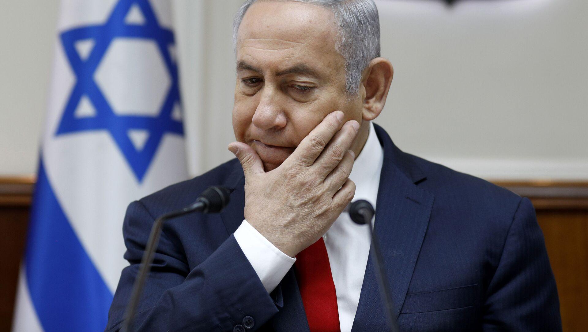 Premier Izraela Binjamin Netanjahu - Sputnik Polska, 1920, 06.02.2021