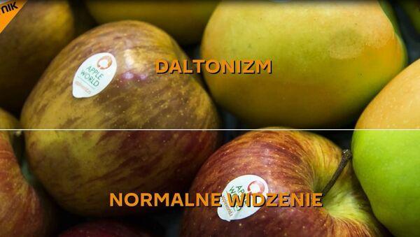 Prezent dla daltonisty - Sputnik Polska