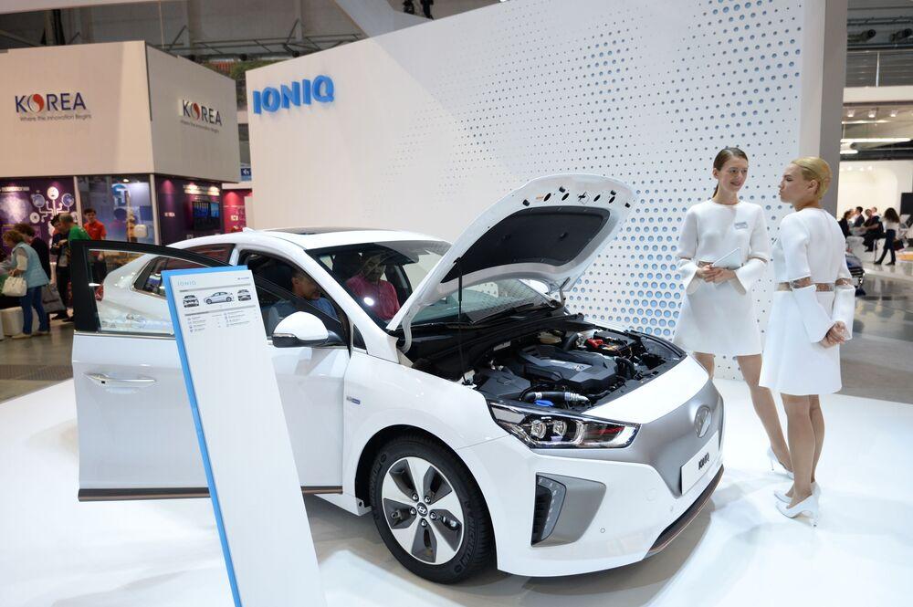Nowy samochód elektryczny Hyundai Ioniq