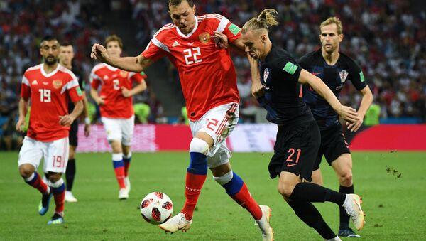 Mecz Rosja-Chorwacja, MŚ 2018 - Sputnik Polska