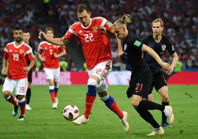 Mecz Rosja-Chorwacja, MŚ 2018