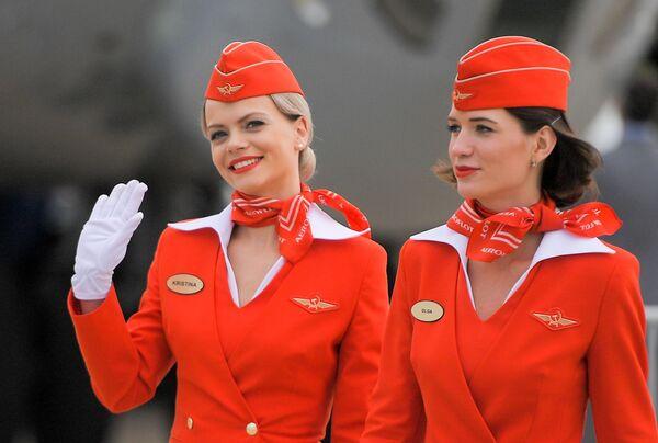 Stewardessy Aeroflotu - Sputnik Polska