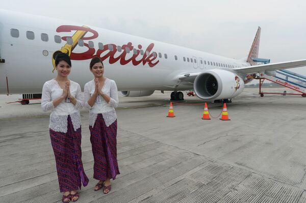 Stewardessy w Indonezji - Sputnik Polska