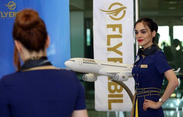 Stewardessa Fly Erbil w Iraku - Sputnik Polska
