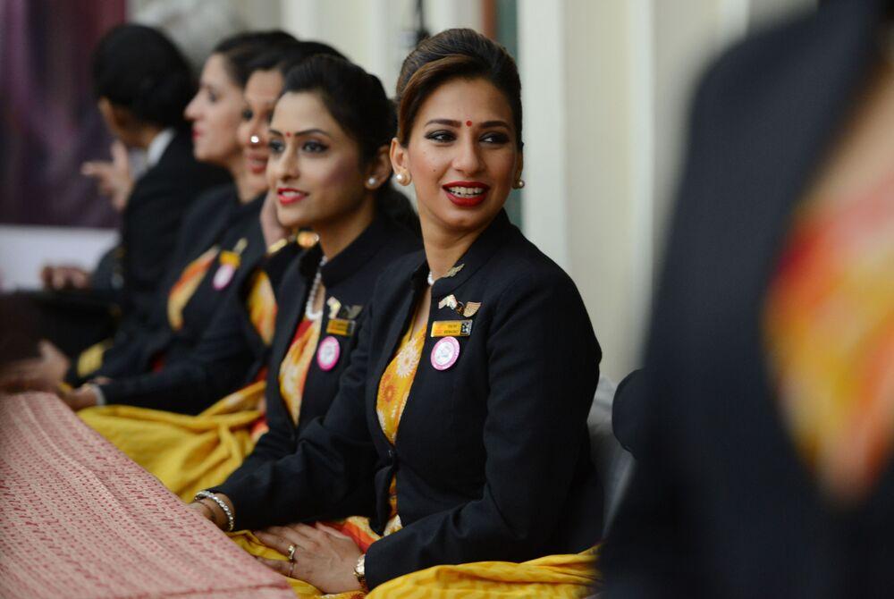 Stewardessy linii lotniczych Air India