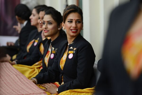 Stewardessy linii lotniczych Air India - Sputnik Polska