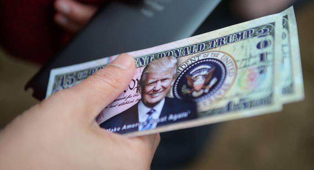 Dolar z wizerunkiem Trumpa