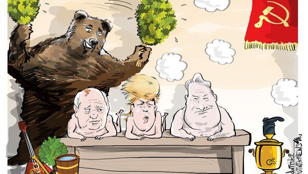 Gdzieśtam na daczy u Gorbaczowa... - Sputnik Polska