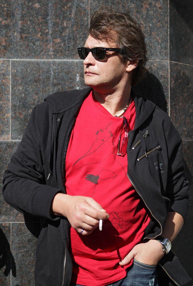 Rosyjski aktor Aleksandr Domogarow w 2011 roku