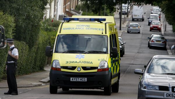 Ambulance in UK (File) - Sputnik Polska