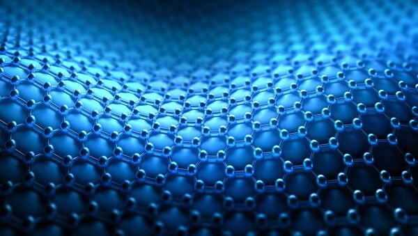 Struktura molekularna tkaniny z nanorurek - Sputnik Polska