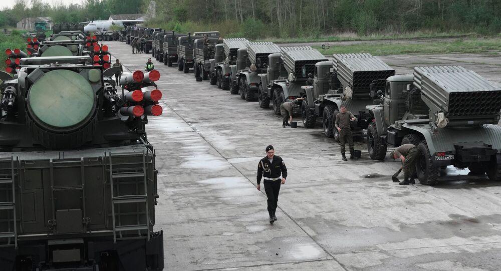 Sprzęt wojskowy w armii FR