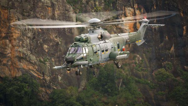 Helikopter H225M spółki Airbus Helicopters - Sputnik Polska
