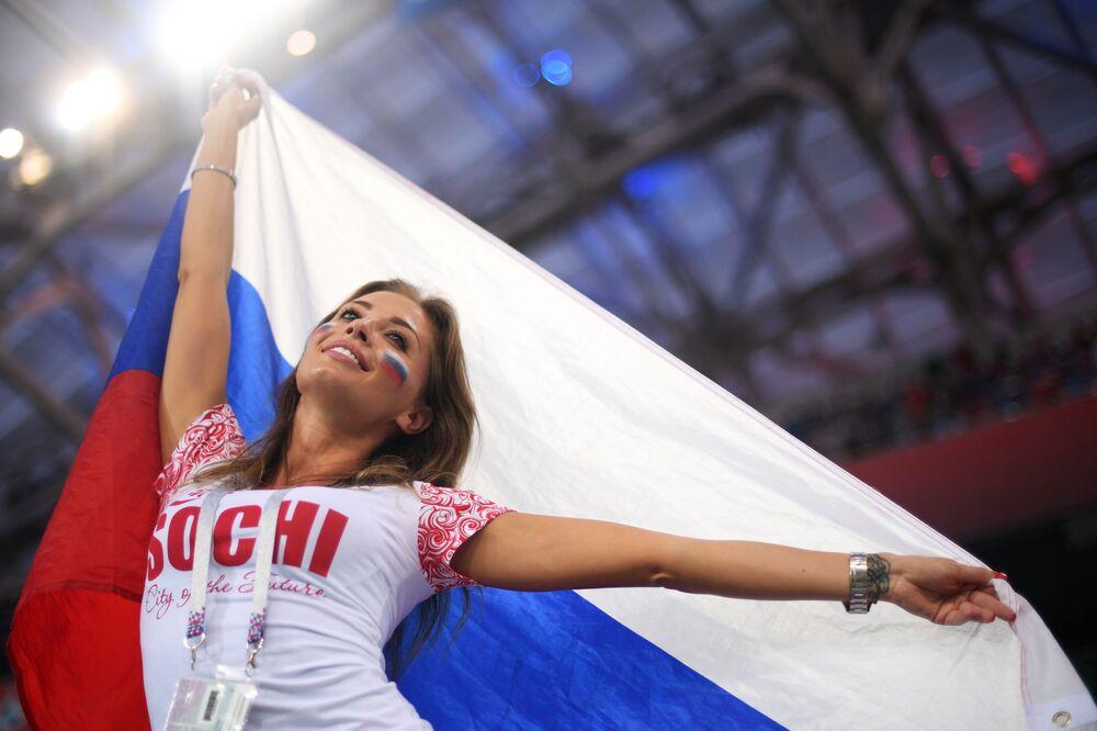 1/4 finału MŚ 2018, mecz Rosja - Chorwacja