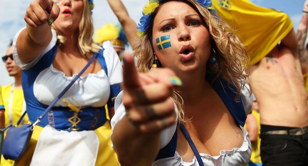 1/4 finału MŚ 2018, mecz Szwecja - Anglia