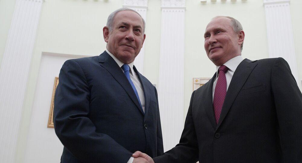 Prezydent Rosji Władimir Putin i premier Izraela Benjamin Netanjahu