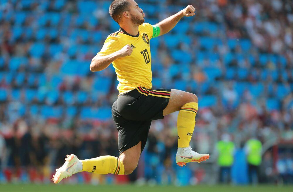 Belgijski piłkarz Eden Hazard