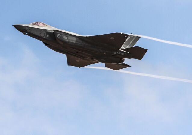 Amerykański myśliwiec F-35. Zdjęcie archiwalne