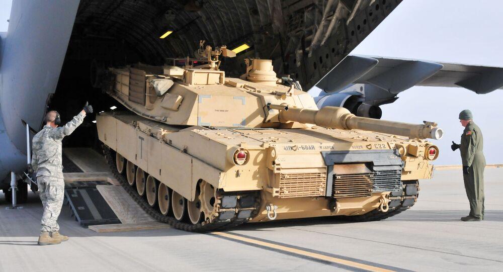 Amerykański czołg M1A2 Abrams