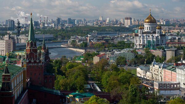 Widok na Kreml - Sputnik Polska