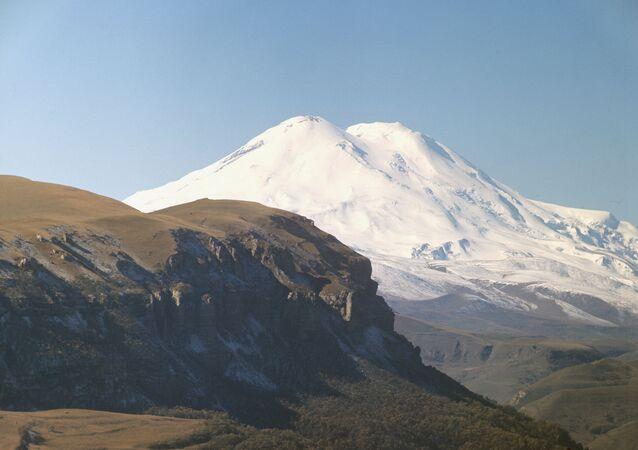 Widok na Elbrus