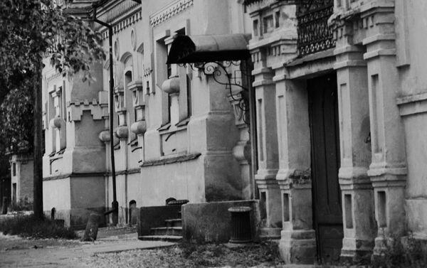 Dom inżyniera Ipatiewa w Jekaterynburgu, w którym rodzina carska spędziła ostatnie dni swojego życia - Sputnik Polska