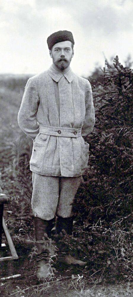 Mikołaj II na polowaniu, druga połowa lat 90. XIX wieku