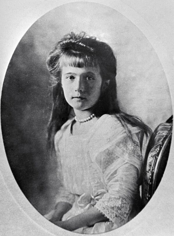 Anastazja Romanowa, najmłodsza córka cara - Sputnik Polska